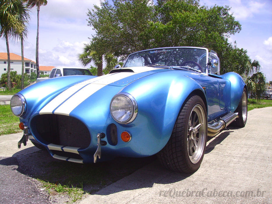 Shelby Cobra Azul